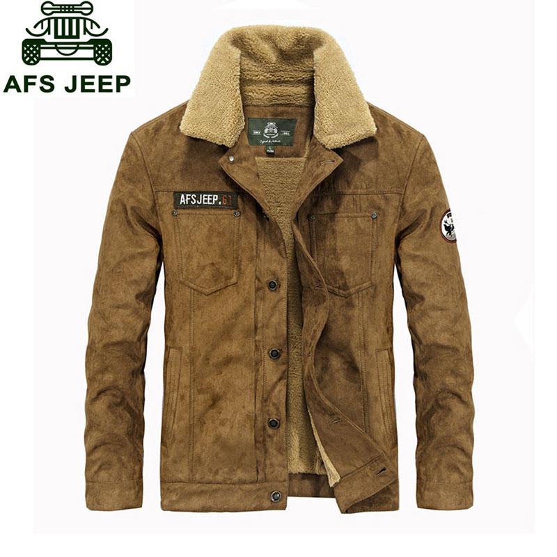 M 3XL New Fleece Warm Retro Jackets font b Mens b font font b Jeans b