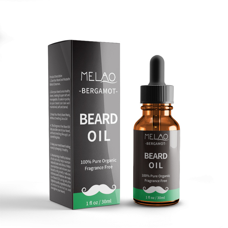 Beard-Oil Essence-Mustache Thicker Organic Natural Smooth Fragrance Men 100%Pure