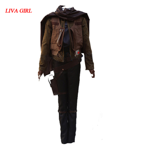Jyn Erso cosplay Costume Rogue One A Star Wars Story costume Jyn Erso Outfit Adult Carnival Halloween Costume