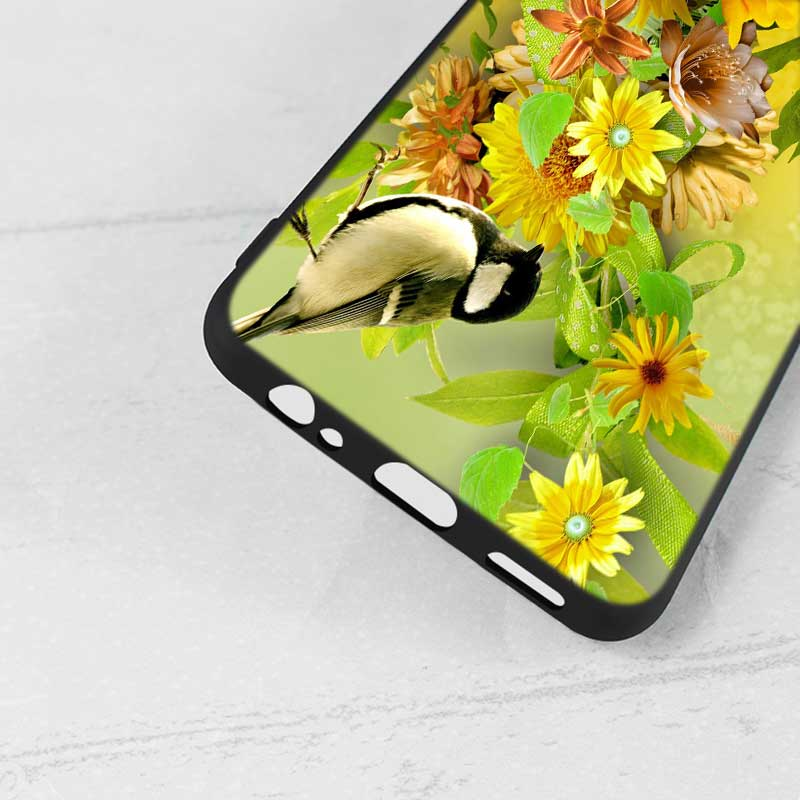 For Samsung A6S A8S A6 A7 A8 A9 A5 A3 Star Plus 2018 2017 2016 Black Silicon Phone Case Colourful Butterfly Style in Fitted Cases from Cellphones Telecommunications