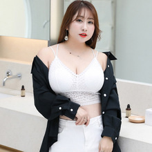 Plus Size M-3xl  Lace Strapless Tube Top For Summer for bust 70-100cm Women 9965