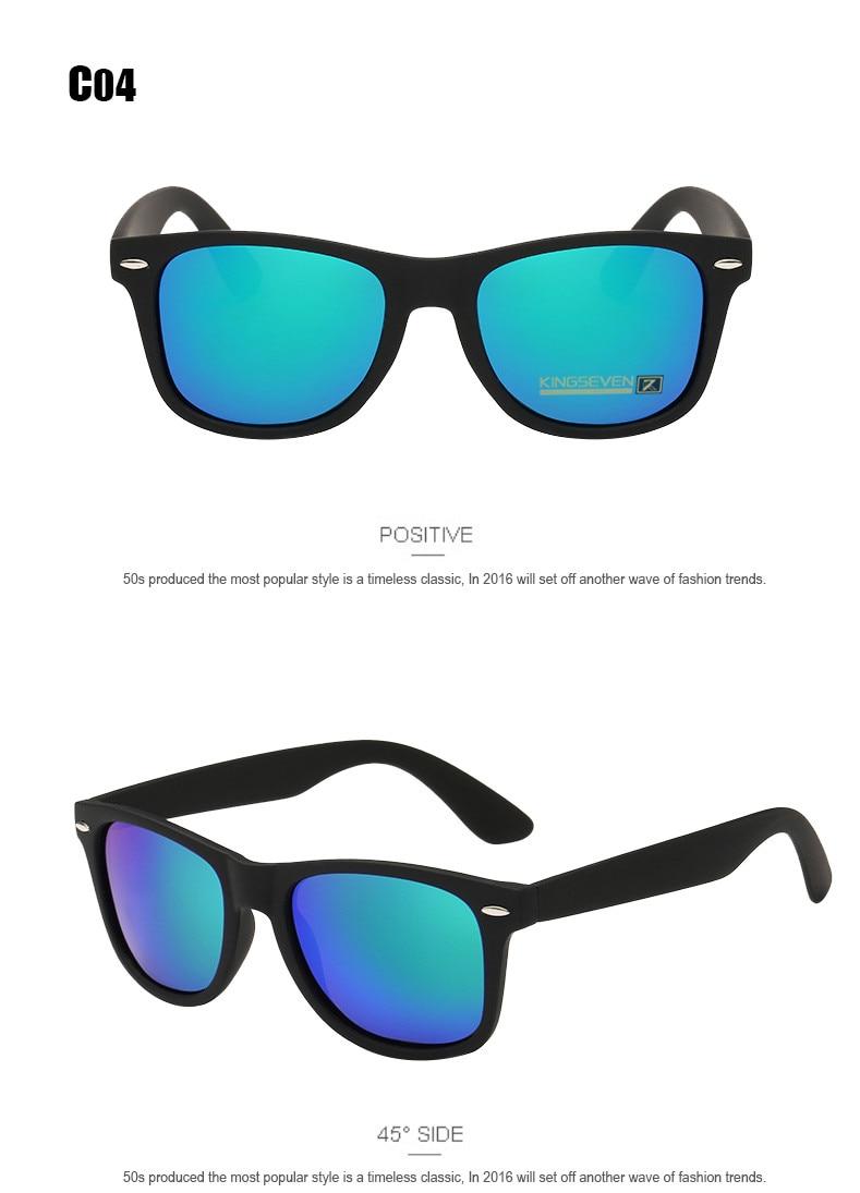 54mm Fashion Unisex Square Vintage Polarized Sunglasses mens Polaroid Women Rivets Metal Design Retro Sun glasses gafas oculos 8