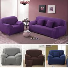 5 Colors Furniture Suppies Spandex Stretch Sofa Cover Big Elastic Sofa Furniture Cover Single/Two/Three/Four-seat sofa