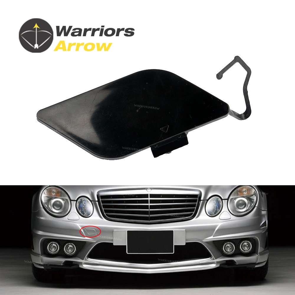 Front License Plate Holder Black Fits for MERCEDES-Benz E-Class W211 2007-2009