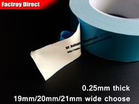 19mm Or 20mm 21mm 20M LED Panel Chip Light Strip Heat Sink Thermal Conductive Tape Double