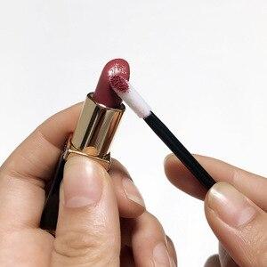 Image 4 - 500/1000 PCS חד פעמי שפתיים מברשת נשים אביזרי סיטונאי שפתון גלוס שרביטים מוליך מושלם הטוב ביותר איפור כלי Hotting