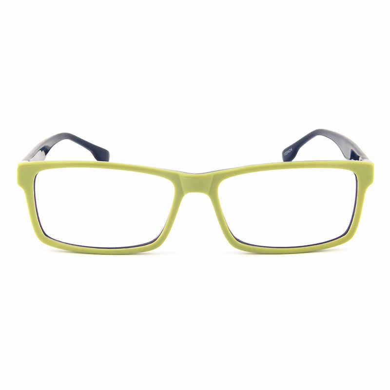 Gmei Optik T9051 Asetat Penuh Rim Persegi Panjang Depan Hijau Bingkai Kacamata untuk Wanita dan Pria Kacamata Kacamata