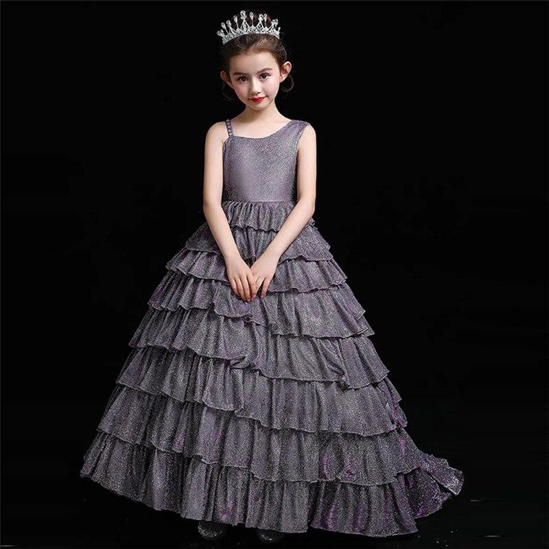Lindo Long Tail vestido de Baile Vestido