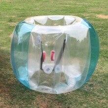 Весело активного отдыха надувные ПВХ пузырь столкновения бампер буфер мяч Training Бег Спорт Семья игры облегающий костюм невменяемым мяч