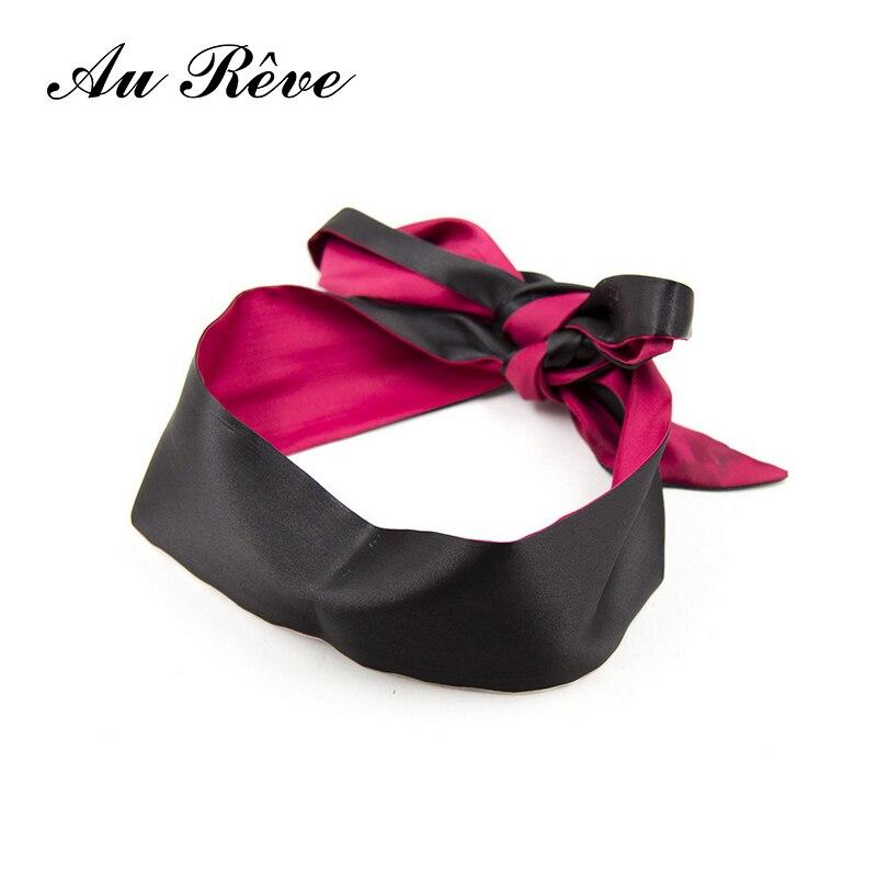 Buy Au Reve Satin Eye Mask Blindfold Fetish Slave Bdsm Sex Product Adult Game Flirting Sex toys Couple Women Men Role Play