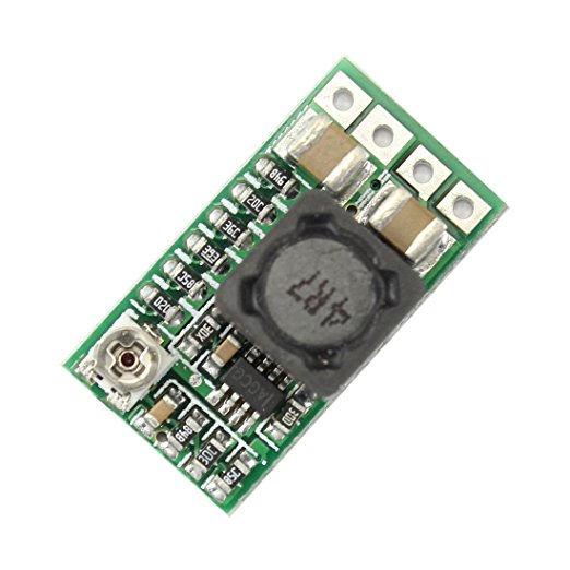 10pcs Mini DC-DC 12-24V To 5V 3A Step Down Power Supply Module Voltage Buck Converter Adjustable 97.5% 1.8V 2.5V 3.3V 5V 9V 12V цена и фото