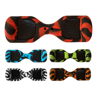New 2 Pcs Hoverboard Silicone Soft Flexible Foldable Protective Case Cover For 6 5 Inch Self