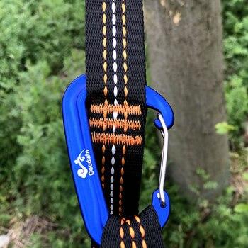 2X2.8 M Forte Sangle Ceinture Hamac Arbre Sangles Suspendus Sangles Corde Super Multi-joueur Hamac Sangle Ceinture Flyknit Hamac Hamaca