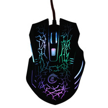 Wired Optical Gaming Mouse LED Colorful Backlight Game Mouse Adjustable 1200-3200DPI 6 Buttons USB Mice For PC Computer Laptop