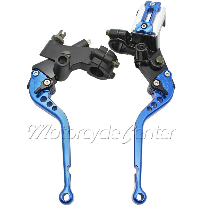 Motorcycle Handlebar 7/8 22mm Master Cylinder Kit Reservoir Long Brake Clutch Levers For Yamaha FZ1 FZ6N FZ6R FZ8 YZF-R6 universal motorcycle brake fluid reservoir clutch tank oil fluid cup for mt 09 grips yamaha fz1 kawasaki z1000 honda steed bone