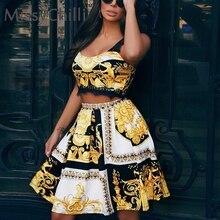 3815b2837 MissyChilli Paisley oro bodycon vestidos casual de las mujeres sexy de  encaje de club vestido de