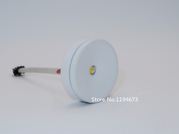 Мини 3 Вт, светодиодный светильник с регулируемой яркостью, витрина для шкафа, витрина, ювелирная мебель, поверхностный точечный светильник