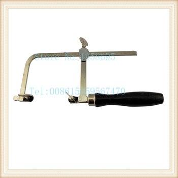 Envío Gratis, marco de sierra de joyería diy, arco de sierra Dental ajustable, hoja de sierra, herramientas de producción de joyas, marco de sierra ajustable