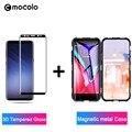 Mocolo 3D премиум стекло для Samsung Galaxy S8 S9 Plus Защитная стеклянная пленка для экрана для Note 8 9 закаленное стекло магнитный металлический корпус