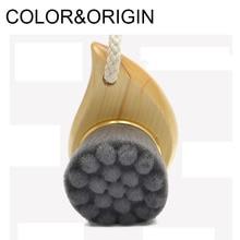 Farve & Oprindelse Bambus Trækul Ansigtsbørste Soft Fiber Mild Ansigtsrensning Børste Ansigtsrensning Massageværktøj Blackhead Remover