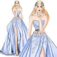 שמלות Custom made עם תמונות תחרת שמלות כלה שמלת כלה מוסלמית שרוולים ארוכים Catherdral רכבת לוקסוס Vestido דה novia