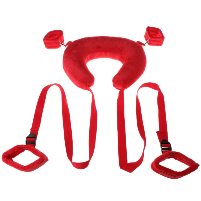 Fetish Position Master Open Legs Soft Padded Pillow With Hand Cuffs Ankle Cuffs Bondage Restraints Harness Erotic Sex Toys стойка студийная kupo legs master cs 30m