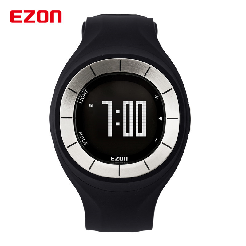 EZON Fashion Rubber Clock Women Colorful Watch Sports Running Watches Speed Pedometer Calories Counter Digital Wristwatch ezon 2016 lovers sports outdoor waterproof gym running jogging fitness pedometer calories counter digital watch ezon t029