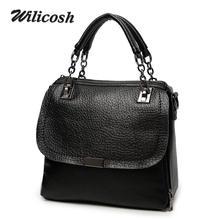 Wilicosh 2016 Amerikanischen Stil Frauen Handtasche Rindspaltleder Frauen Umhängetasche Famous Design Frauen Bag Weibliche WL069