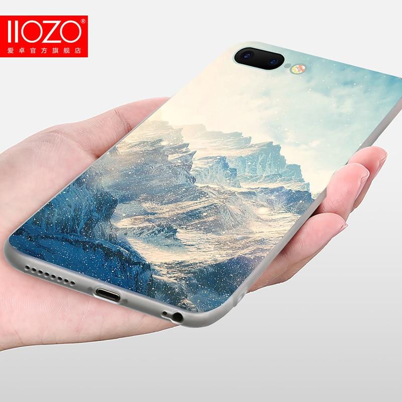 Θήκη τοπίου τοπίου για Iphone 7 8 6 6S Plus - Ανταλλακτικά και αξεσουάρ κινητών τηλεφώνων - Φωτογραφία 6