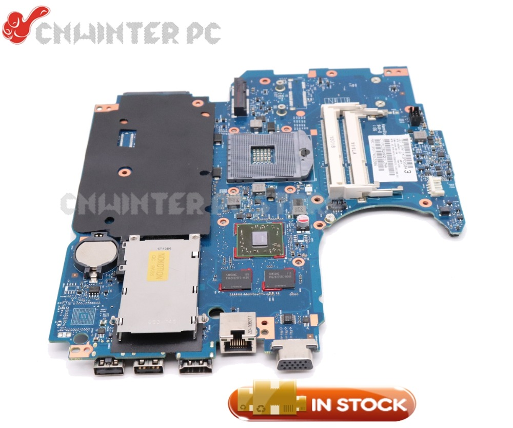 NOKOTION Laptop Motherboard For HP Probook 4530s 4730s 670795-001 658343-001 MAIN BOARD HM65 DDR3 HD5470 GPU 670795 001 for hp probook 4730s 4530s laptop motherboard 6050a2465501 mb a02 hm65 1gb non integrated 100