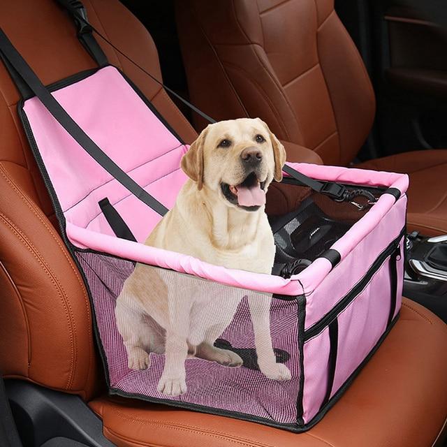 Bolsa de asiento plegable para perro mascota, bolsa de asiento para coche, bolsa impermeable para transporte de seguridad, perrera, bolsas para colgar, bolsa para asiento de perro, cesta