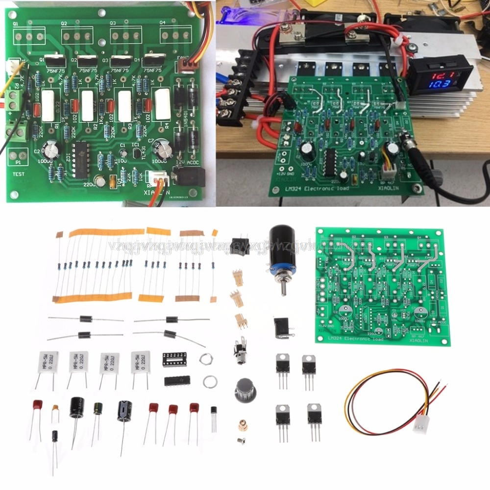 150W 10A Constant Current font b Electronic b font Load Tester Battery Discharge Capacity Test
