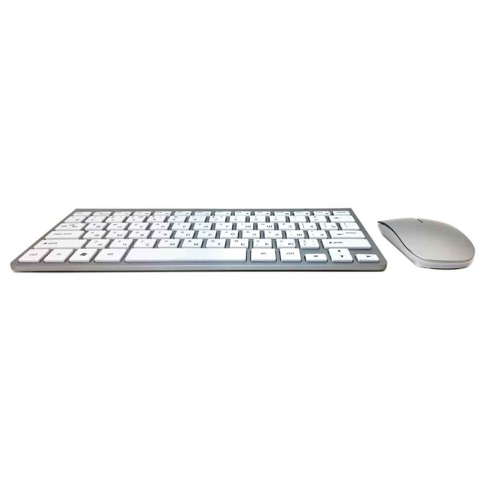 combo 2.4g sem fio mouse para apple