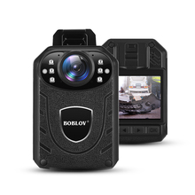 цена на Boblov KJ21 Body Worn Camera HD 1296P DVR Video Recorder Security Cam 170 Degree IR Night Vision Mini Camcorders