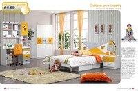 9012 современный дом мебель для детской спальни мебель деревянная кровать шкаф стол стул тумбочка