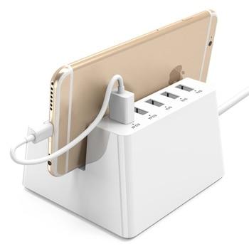 ORICO Smart Power Strip портативный адаптер для зарядки настольное зарядное устройство с 5 портами Usb удлинитель
