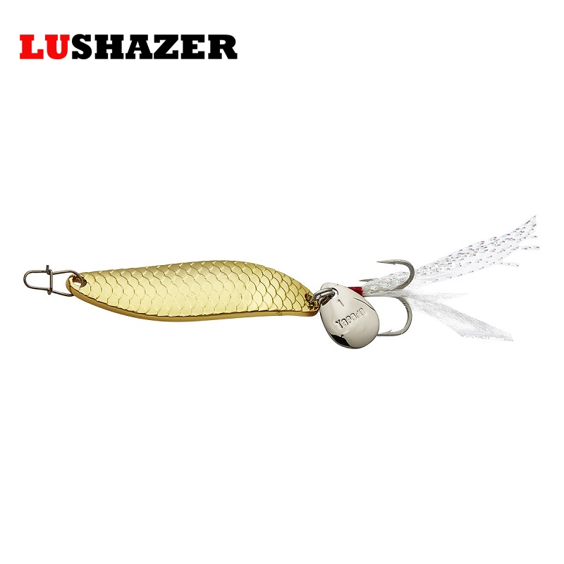 Spoon bait fishing 10g 15g 20g metal jig isca artificial squid lures saltwater ice winter fishing tackles free ship lucky john croco spoon big game mission 24гр 004