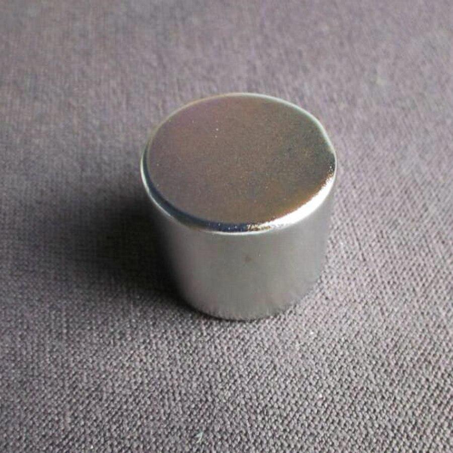 1 StÜck 25*20 Starke Runde Magnete 25x20 25mm * 20mm Rare Earth Neodym Permanent Magnet N52 Leistungsstarke Magnet 25mm X 20mm