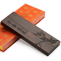 Chinese Style Calligraphy Paperweight Wooden Paperweights Carving Design Calligraphy Writing Painting Supplies Artist Supplies