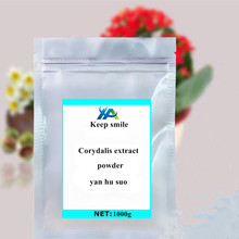 Factory Supply Corydalis Yanhusuo 98% Racemic Tetrahydropalmitine Organic Extract Corydalis  extract yan hu suo Free shipping стоимость