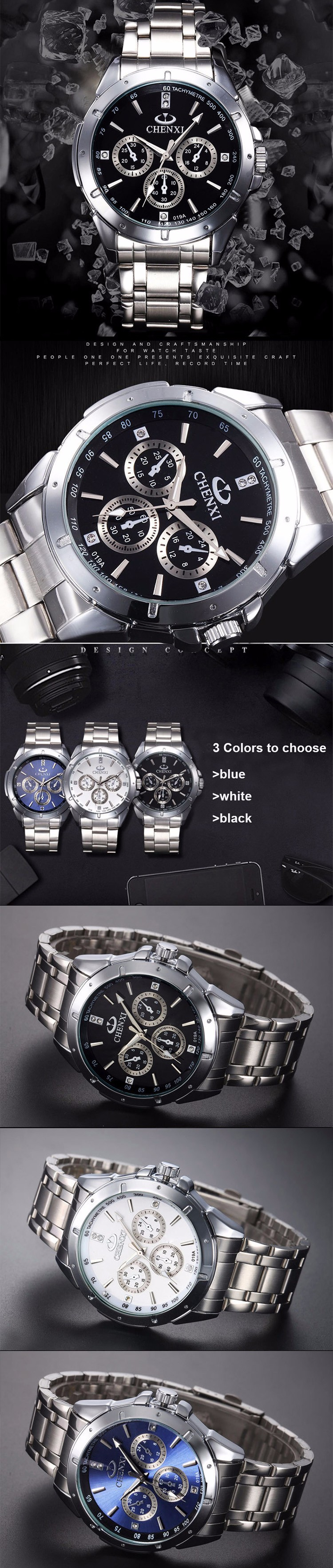 New Stainless Steel Wristwatch Quartz Watch Men Top Brand Luxury Famous Wrist Watch Male Clock For Men Hodinky Relogio Masculino 5  New Stainless Steel Wristwatch Quartz Watch Men Top Brand Luxury Famous Wrist Watch Male Clock For Men Hodinky Relogio Masculino HTB10gJTOpXXXXX