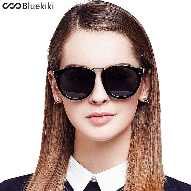 sonnenbrille Weibliche polarisierte sonnenbrille katze augen sonnenbrille mode Retro sonnenbrille schwarzer rahmen tNsds