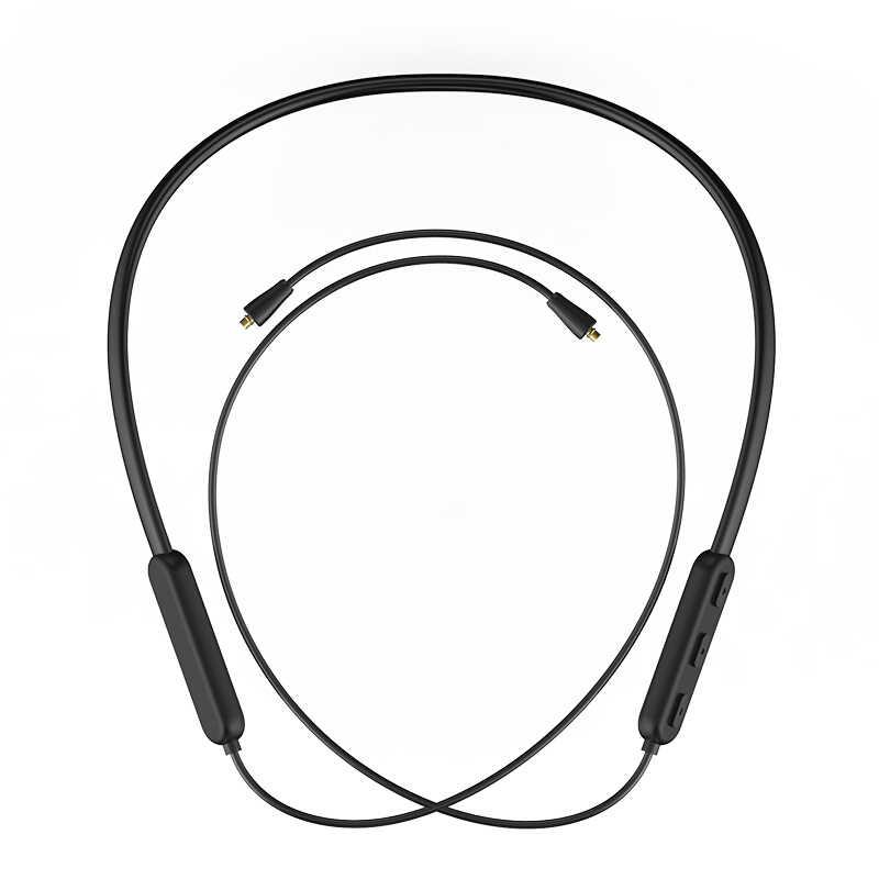 Bluetooth 5.0 Aptx kabla mmcx A2DC 2PIN 0.78 IE80 IE40 IM wodoodporny bezprzewodowy zestaw słuchawkowy Bluetooth kabel do Shure SE215