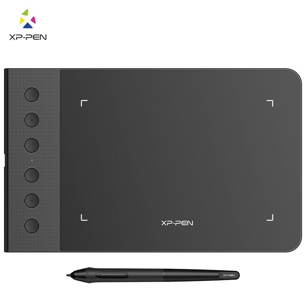 XP-Caneta G640S 6x4 Polegada Gráfico desenho digital Tablet com 8192 níveis e 6 shortuct chaves Compatível com Android