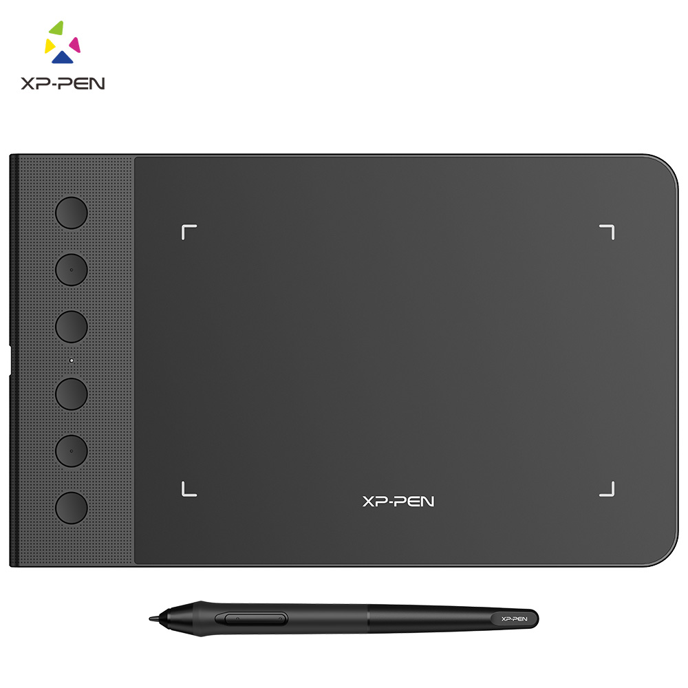 XP-Pen G640S 6 x 4 Inch Graphic Drawing Tablet Pen Tablet for OSU with Battery-Free Stylus Gameplay