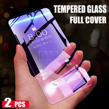 Full Cover Tempered Glass For Huawei P30 lite Anti Blu-ray screen glass P20 PRO film