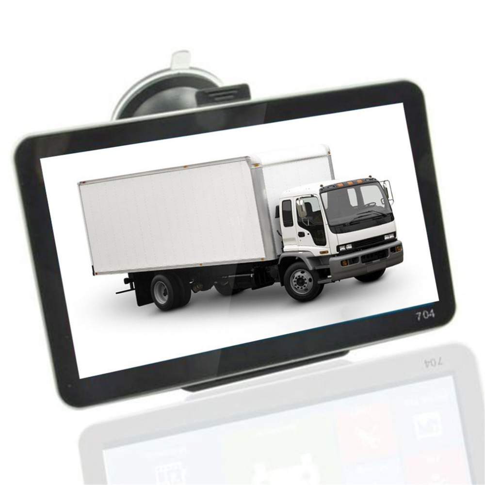 7 Inch 800*480 TFT LCD Display GPS Auto Car Truck Vehicle Portable GPS Navigation Navigator SAT NAV 4GB US Map MP4/MP5