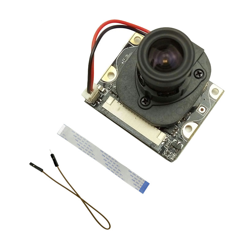 US $28 4 5% OFF|Raspberry Pi Camera IR CUT night vision noir module board  5mp 1080p take the best picture Whatever in the daytime or at night-in Demo