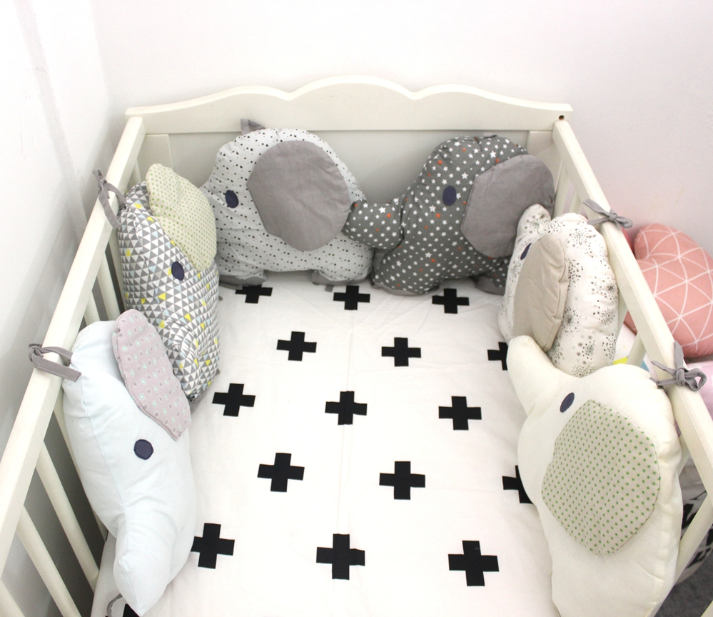 crib regarding excellent for your pads loving bumper sew no residence design bedroom cribs diy life