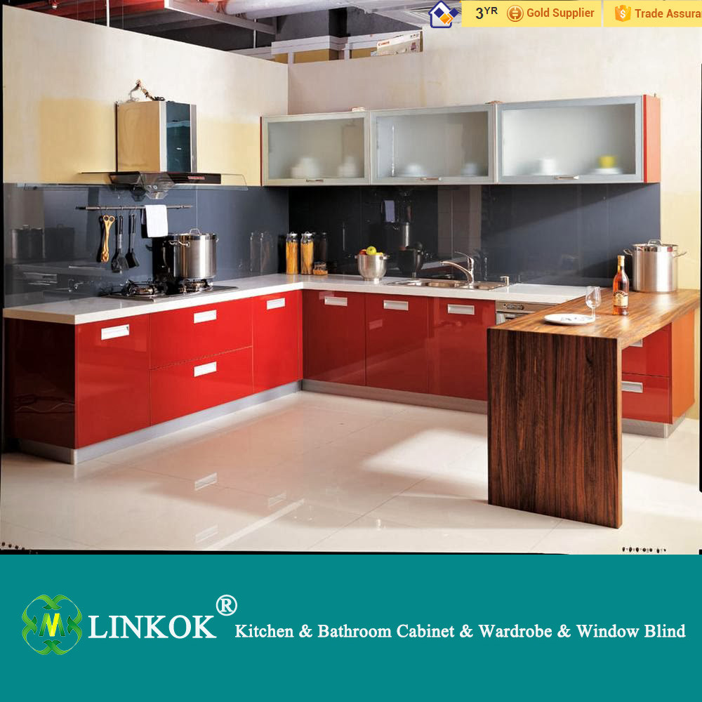Modular Kitchen Furniture Aliexpresscom Buy Linkok Furniture Cheap High Gloss Uv Finish